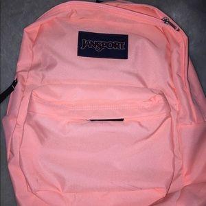 Jansport coral backpack